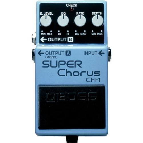 BOSS Guitar Effect Super Chorus [CH-1] - Gitar Stompbox Effect